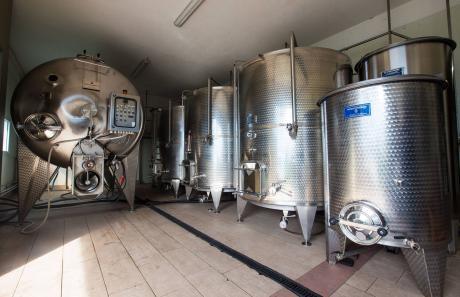 Prospettiva della cantina vinicola Menegola
